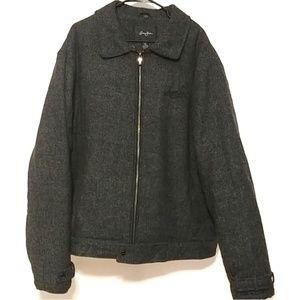 Sean John XXXL Gray & black coat lined
